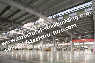 중국 회전 - 기조 계획, Q345 강철 구조 건축 작업장을 위한 강철 구조물 협력 업체