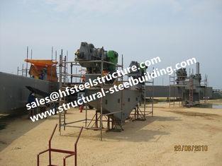 중국 콘테이너 탱크 산업 보일러를 위한 구조상 산업 강철 건물 제작 건축 협력 업체