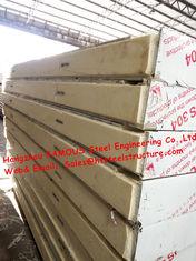 중국 저온 저장 1150mm에 있는 도보를 위한 고전적인 찬 방 건축재료 샌드위치 PU 냉각 패널 협력 업체