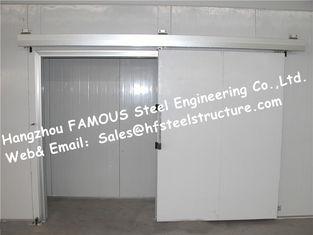 중국 EPS/PU 샌드위치 패널은 저온 저장을 위한 냉장고 패널에서 과일을 신선한 보존하기 위하여 걷습니다 협력 업체