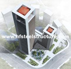 중국 산업 조립식으로 만들어진 강철 구조 조립식 건물, 다층 강철 건물 협력 업체