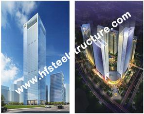 중국 관례에 의하여 조립식으로 만들어지는 산업 Q235의 Q345 강철 저장 다층 강철 건물 협력 업체
