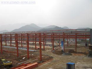 중국 넓은 경간 전 기술설계 산업 강철 건물 구조, 움직일 수 있는 콘테이너 집 협력 업체