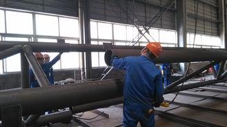 중국 산업 강철 건물을 위한 전 기술설계 분대 구조 강철 제작 협력 업체