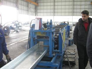 중국 모든 크기를 위한 구조 강철 건물 장비 직류 전기를 통한 강철 도리 협력 업체
