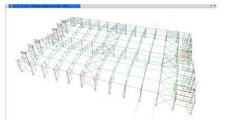 중국 금속 구조를 가진 예비적인 건축 구조상 기술 설계 협력 업체