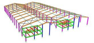 중국 문맥 강철 구조 구조상 기술 설계, 정상 적이고/특별한 구조 유형 협력 업체