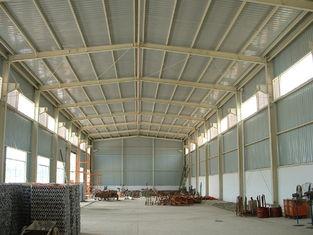 중국 휴대용 내구재는 건물, 경량 강철 제품 헛간 축사를 전 설계했습니다 협력 업체