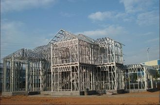 중국 냉각 압연된 강철을 가진 조립식으로 만들어진 모듈 Designe에 의하여 직류 전기를 통하는 상업적인 강철 건물 협력 업체