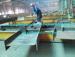 중국 전 상업적인 강철 빌딩 H 단면도 광속 입히는 회색 회화 설계 협력 업체