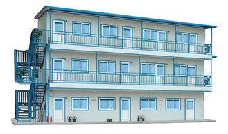 중국 임시 거주를 위한 2/3개의 층 Recyling 휴대용 조립식 강철 집 협력 업체