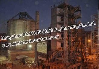 중국 산업 구조 강철 제작 볼리비아 시멘트 식물 협력 업체