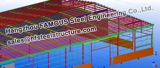 중국 제작을 위한 강철 작업장 토목 공학 건축 설계 협력 업체