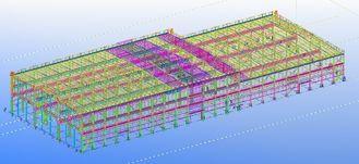 중국 전 설계된 조립식으로 만들어진 강철 상업적인 구조상 기술 설계 협력 업체