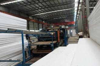중국 전 설계된 관례는 산업 용접 금속 루핑 장 체계를 조립식으로 만들었습니다 협력 업체