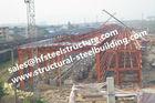 중국 Q235 Q345 급료 산업 강철 건물, 건축 강철 위치 조립식 강철 건물 공장