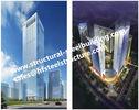 중국 거주용 호텔 및 사무실을 위한 Q345B 다층 강철 조립식 건물은 계약자를 날조했습니다 공장