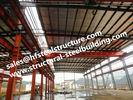중국 구체적인 강철은 건축 구조상 강철 프레임 건물 빨리 건립한 조립식으로 만들어진 건물을 섞었습니다 공장