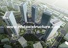 중국 OEM에 의하여 조립식으로 만들어지는 용접, 제동하고, 구르고 그리기 금속 상업적인 강철 건물 회사