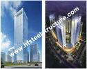 중국 관례에 의하여 조립식으로 만들어지는 산업 Q235의 Q345 강철 저장 다층 강철 건물 회사