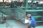 중국 의 용접하는 교련 잘라서 날조되는 구조 강철 건물 구조 공장
