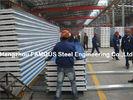 중국 샌드위치 위원회 EPS PU 바위 모직이 물결 모양 강철 루핑 판금 루핑에 의하여 시트를 깝니다 공장
