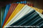 중국 Galvalume에 의하여 직류 전기를 통하는 금속 루핑 장 Prepainted 물결 모양 위원회 장 공장