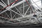 중국 Panelized 벽 체계가 에너지 절약 구조 강철 제작 건물에 의하여 직류 전기를 통했습니다 공장