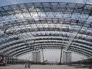 중국 전 설계된 무거운 산업 작업장 구조 강철 제작 강관 트러스 공장