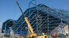 중국 그려지는 움직일 수 있는 산업 강철 건물 제작 내화성 회사