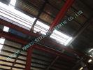 중국 산업 조립식 가옥 80 x 110 강철 프레임 건물은 란/광속 W 단면도 이루어져 있었습니다 공장