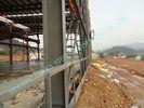 중국 ASTM ASD는 설계된 강철 건물을, 전 85' X 100 ' 발전소 프로젝트 작업장 조립식으로 만들었습니다 공장