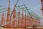 중국 산업 ASTM 강철 프레임 건물, 조립식 가옥 75 x 120 Multipan 금속 건물 공장