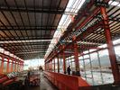 중국 의복 ASTM 강철 프레임 건물, 조립식 가옥 82 x 100 가벼운 산업 강철 작업장 공장