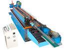 중국 크롬 12 잎 유압 절단을 가진 15KW 모자 채널 냉각 압연 기계 공장