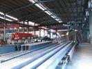 중국 조립식으로 만들어진 창고에 의하여 구부려지는 지붕 산업 구조 강철 헛간 공장