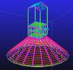 중국 , 방수의 직류 전기를 통하는, 주문 뜨거운 복각 조립식으로 만들어진 강철 구조상 기술 설계 공장