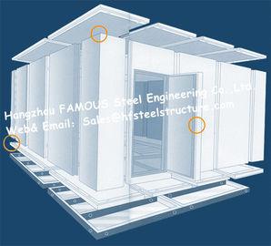 냉장고 감기에 있는 상업적인 도보 및 신선한 채소를 위한 미닫이 문을 가진 냉장고 방