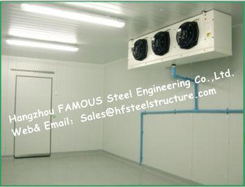 PU 샌드위치 패널과 가진 태양계 상자 저장 냉장고 냉각기 그리고 돌풍 냉장고 찬 방