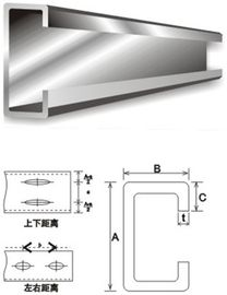 구조 강철 건축재료 직류 전기를 통한 강철 도리 C 및 Z 도리 강철