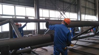산업 강철 건물을 위한 전 기술설계 분대 구조 강철 제작