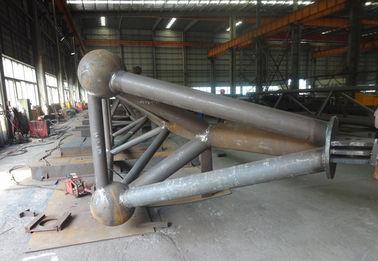 H 유형/상자 유형 구조 강철 제작은 트러스 유형 제작을 배관합니다