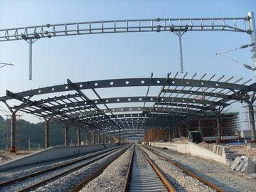 철도역 구조상 금속 트러스 건물, 2-4개의 층을 가진 녹슬지 않는 회화